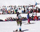 Sierra Nevada cierra su mejor fin de semana de esquí primavera