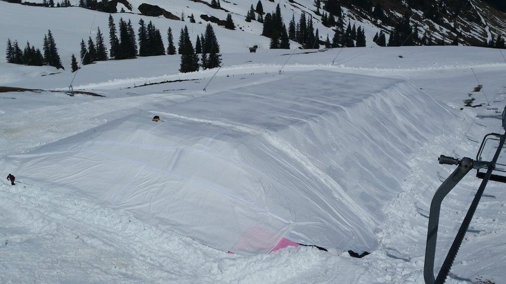 Depósitos de nieve en Kitzbühel