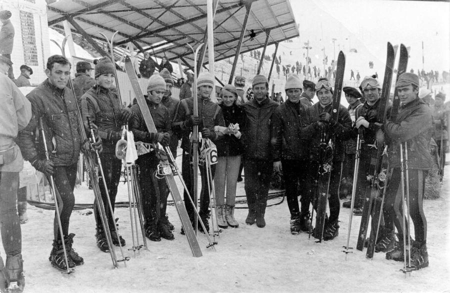 Hstoria deportes nieve españa