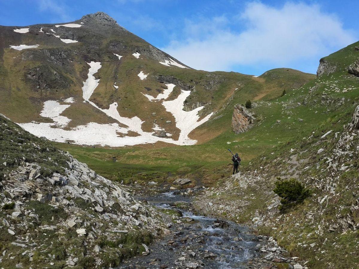 Esquí veraniego en Espot