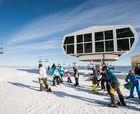Manzaneda reanuda los trabajos de su sistema de nieve artificial