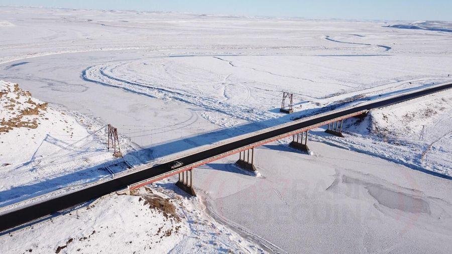 Rio grande congelado