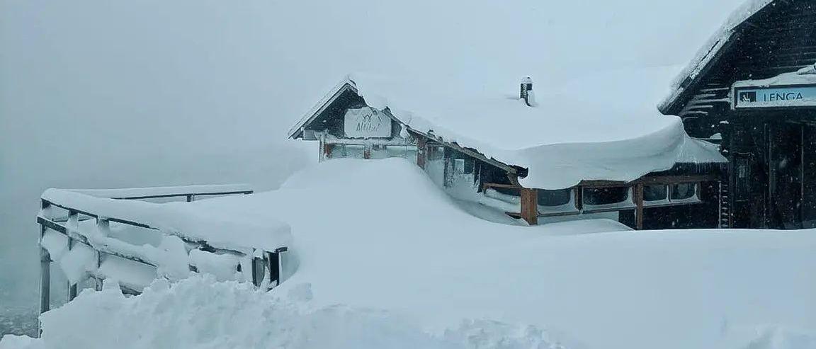 Ola polar histórica en Argentina donde siguen sin poder abrir la temporada de esquí