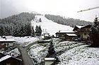 Ya nieva en los Alpes