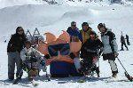Jornada de esquí adaptado en Las Leñas