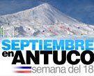 Promociones Para Esquiar Este 18 de Septiembre