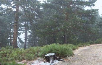 Ayer nevó en Navacerrada. Hacía 16 años que no lo hacía en Septiembre