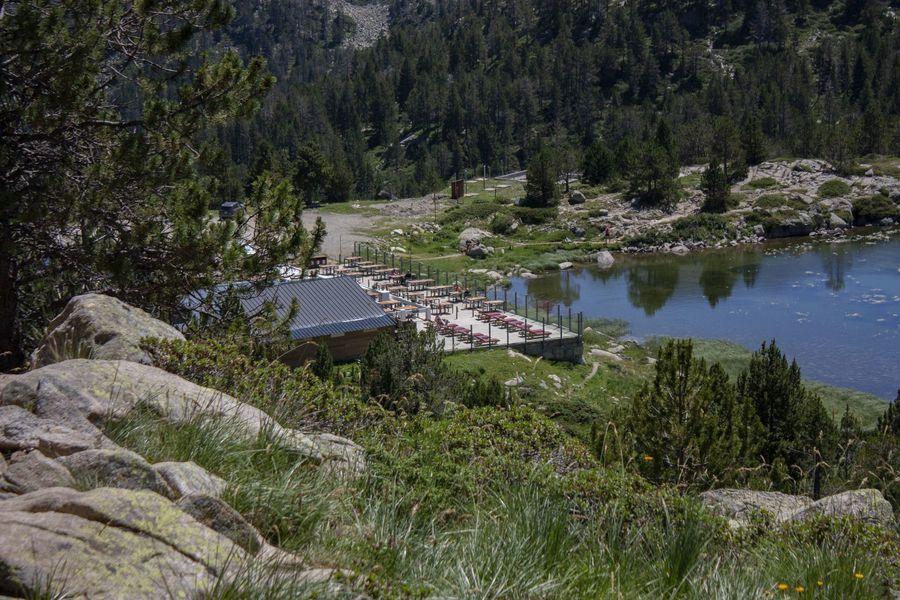 Restaurant llac de pessons Andorra Grandvalira