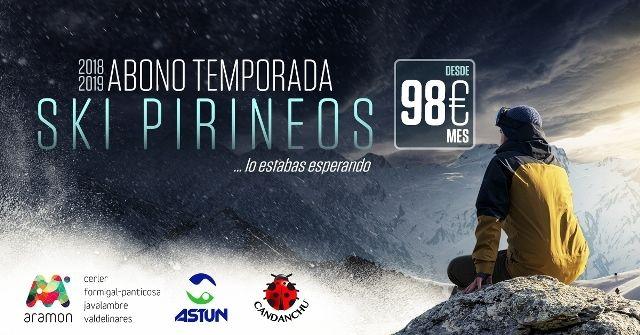 Cartel Ski Pirineos