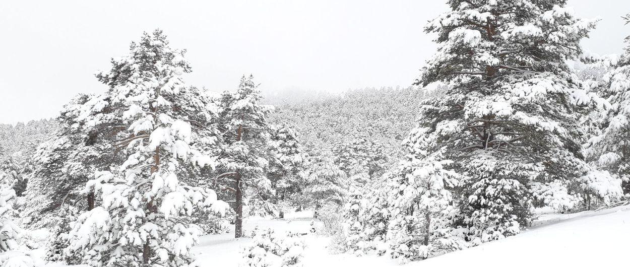 La Serranía y su mantón blanco