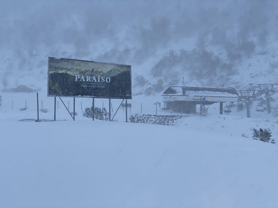 Paraiso asturias esqui