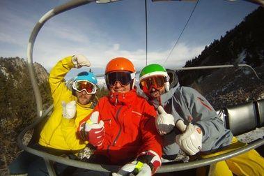 Que no es bonito esquiar?
