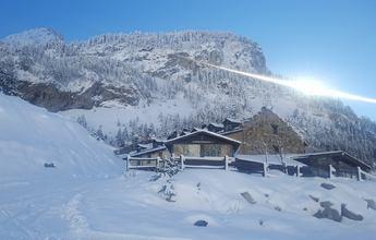 La nevada en Aragón permite abrir más kilómetros de esquí de fondo