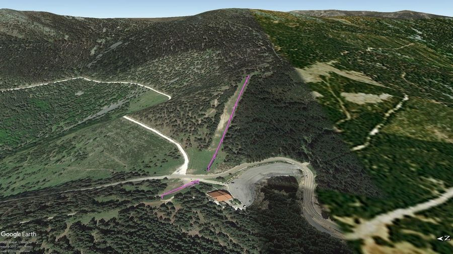 Vistas Google Earth Santa Inés 2018-19