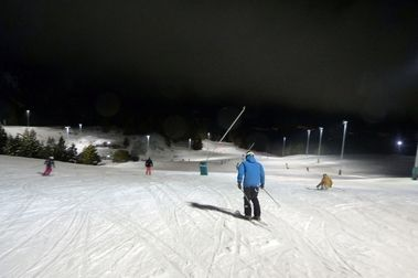 World Snow Day... by Night a Masella!!