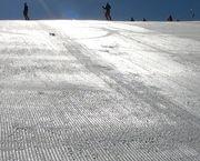 Un 'truco' para esquiar sobre el hielo