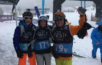 El Salomon Quest Quest Challenge conquista la nieve de Grandvalira