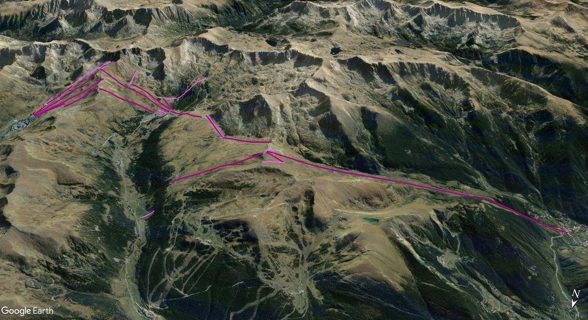 Vistas Google Earth Pas-Grau-Encamp 2017-18