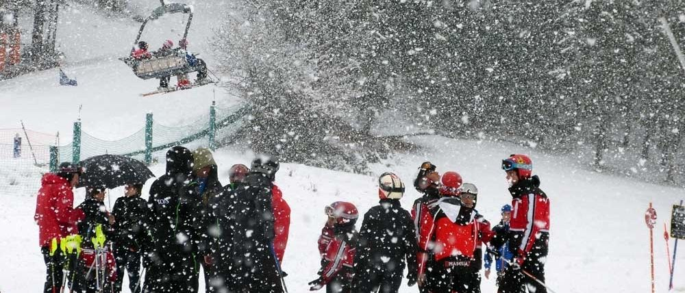 30 cms de neu nova a Masella