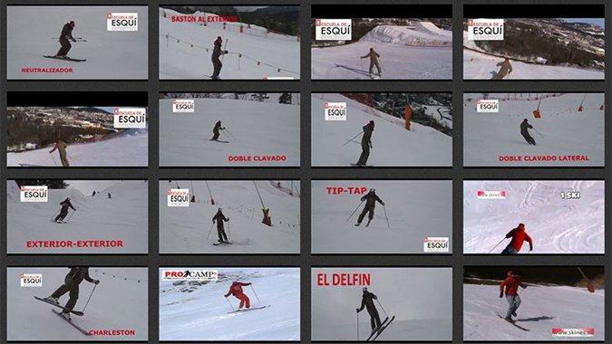 16 ejercicios para mejorar tu esquí.