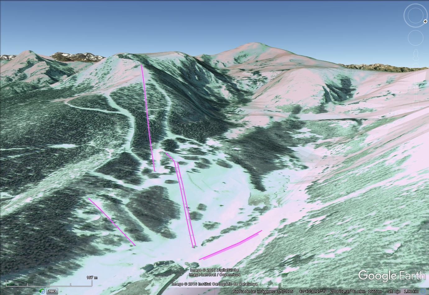 Vistas Google Earth Mijanes 2016-17