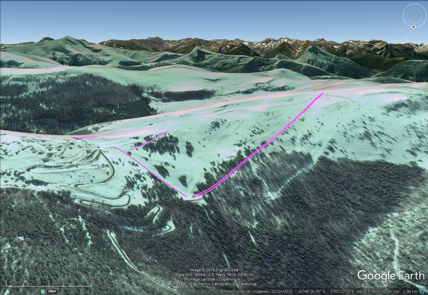 Vistas Google Earth Camurac 2016-17