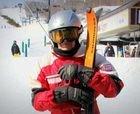 El esquiador de más edad del mundo