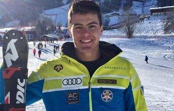 Juan del Campo es 4º en el Gigante clasificatorio de St. Moritz 2017