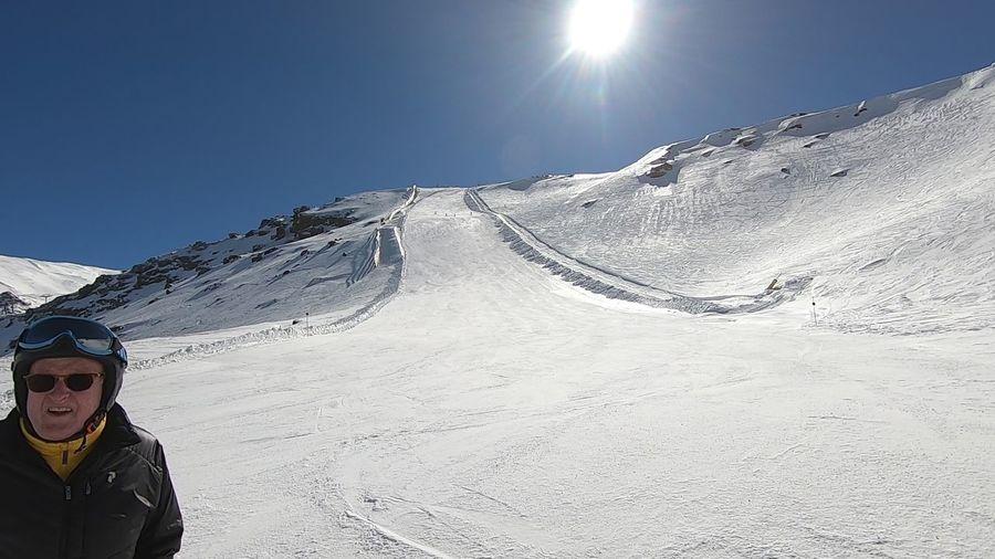 La fuente del Tesoro. Sierra Nevada. Febrero 2019
