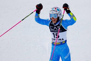 Bassino y Faivre se llevan los oros del Paralelo de Cortina d'Ampezzo 2021