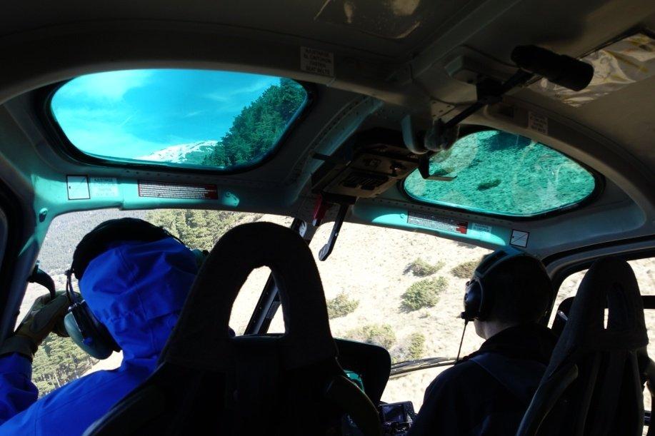 Heliesquí en el Valle de Arán