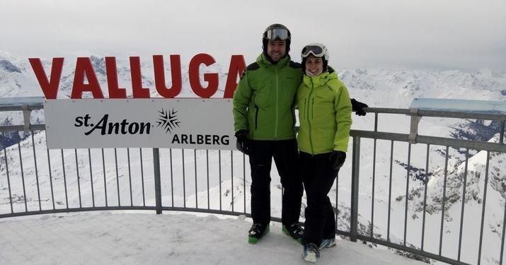St Anton am Arlberg. Reportaje