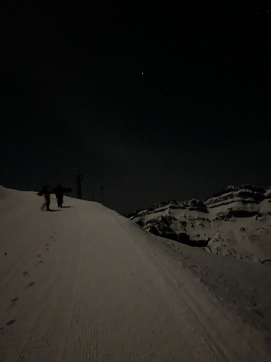 Noches de Luna llena o casi