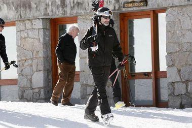 Felipe VI pasa el fin de semana esquiando en Baqueira Beret