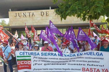 Los trabajadores de Cetursa convocan dos días de huelga en plena Semana Santa