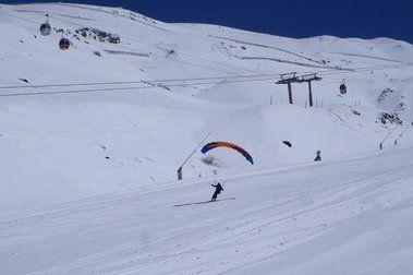La Sierra, redonda y esquiable al 100%