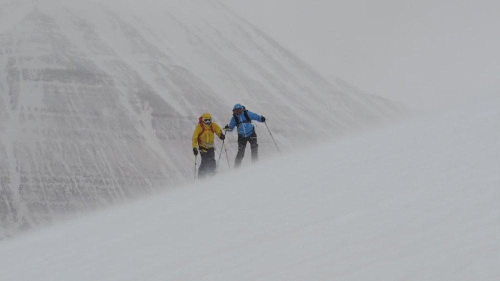 Islandia, esquí salvaje...