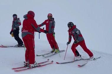 Un esquiador del OSV da positivo por COVID y tambalea el sistema de entrenamientos