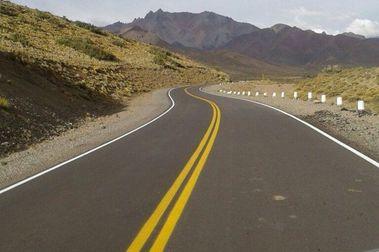 Ruta 222 a Las Leñas, en excelentes condiciones