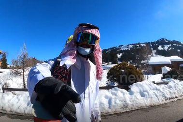 Arabia Saudí busca esquiadores para participar en Pekín 2022