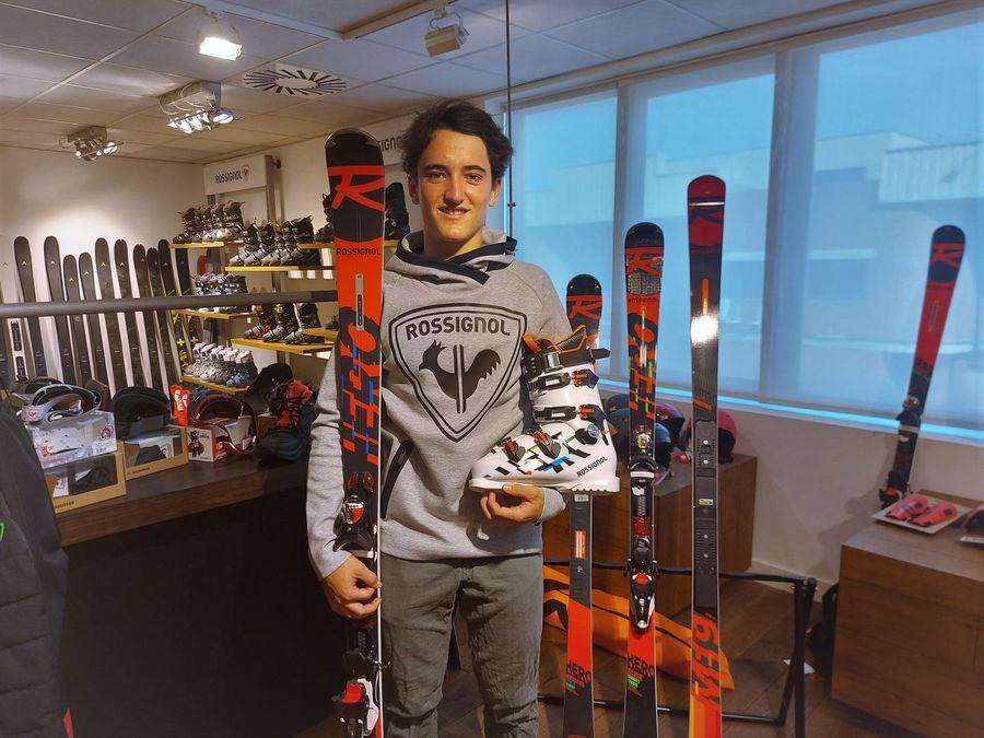 esquiador Tomás Barata
