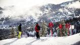esquiando en Utah
