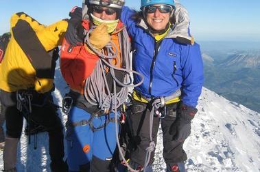 En el Mont Blanc... y sin pañoleta gansa.
