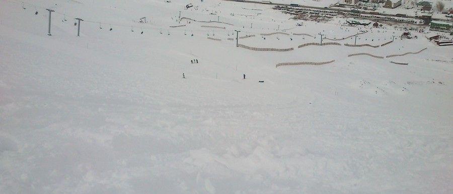 Con muy buena nieve, Penitentes comezó la temporada 2.015