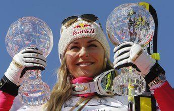 Lindsey Vonn comenzará la Copa del Mundo en Lake Louise