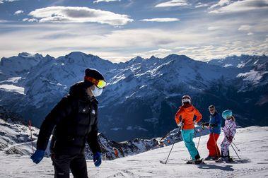 Green Pass (pasaporte COVID) obligatorio para esquiar en Italia