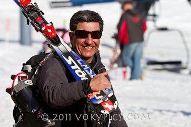Profesores de esquí