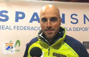 Corrado Momo: El equipo de esquí español ha crecido mucho y aún lo hará más
