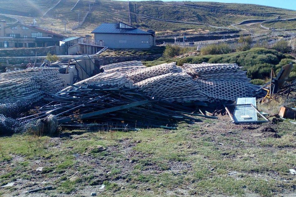 Situacion en Sierra de Bejar