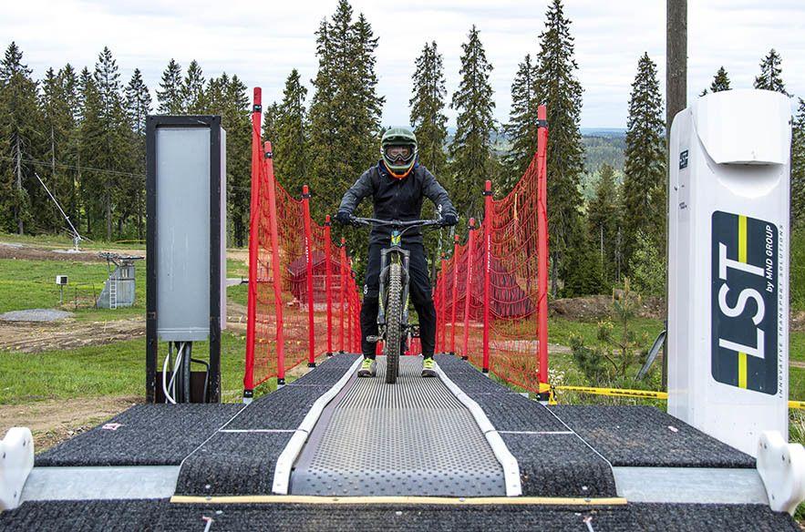 Ciclismo en cinta de esquiadores